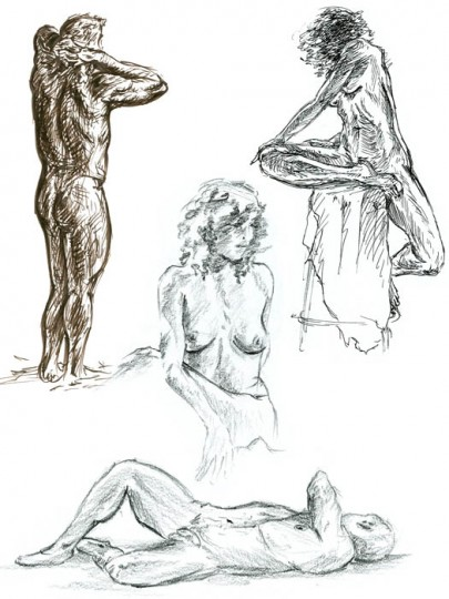Life Drawing Medley 2