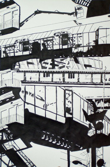 Ink on Paper, 2003