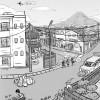Japan Town Scene
